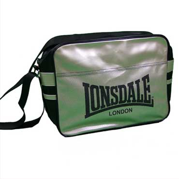 Lonsdale Shoulderbag Urban Black / Gold Negro / Dorado