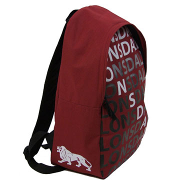 LONSDALE Bagpack LETTERS Red