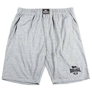LONSDALE Jersey Training SHORTS/Pantalones Cortos Deporte Grey/Gris