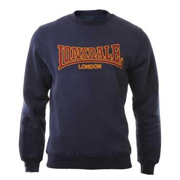 Lonsdale Slim Fit Crewneck Sweatshirt CLASSIC Navy