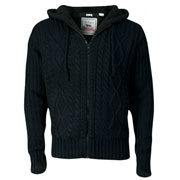 Lonsdale Slim Fit Jersey Con Capucha WEAVER Negro