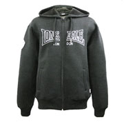 LONSDALE SOUTHPORT Men Hooded Jacket BLACK / sudadera