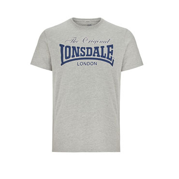 LONSDALE LYDD Men Regular fit T-shirt GREY- Lonsdale London