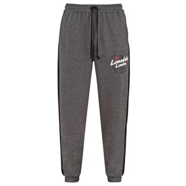 LONSDALE Men Jogging Pants Pantalones grises BRIDPORT