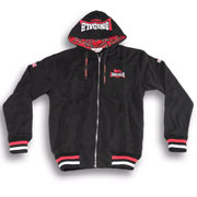 LONSDALE LANCASTER Hooded Zipper Black 117011 - Lonsdale London