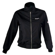 LONSDALE Ladies Harrington Jacket KELLY Black 119040 - Lonsdale London