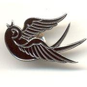 BIRDIE Right Metal Pin / Pin Metalico