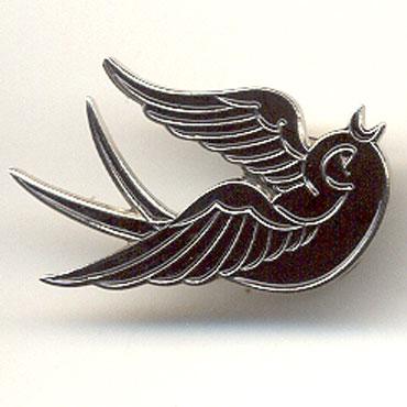 BIRDIE Left Metal Pin / Pin Metalico