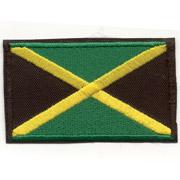 BANDERA JAMAICANA Parche
