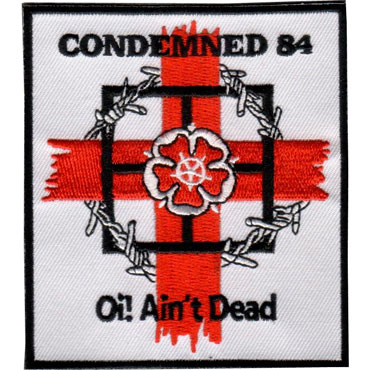Artwork for CONDEMNED 84 Oi! aint dead parche