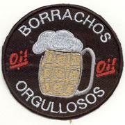BORRACHOS Y ORGULLOSOS OI! Parche