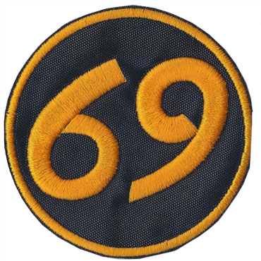 SHAM 69 FANS - 69 PARCHE