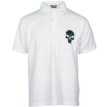 HOOLY Polo T-shirt White / Polo T-shirt HOOLIGAN STREETWEAR
