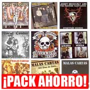 BARGAIN PACK OF 9 CDS FROM BRONCO BULLFROG RECORDS RELEASES