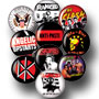 10 BADGES PACK PUNK 4