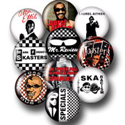 10 BADGES PACK SKA 1