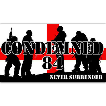 CONDEMNED 84 Soldiers Pegatina PVC / PVC Sticker