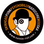 CLOCKWORK ORANGE RUNNIN RIOT Pegatina PVC / PVC Sticker