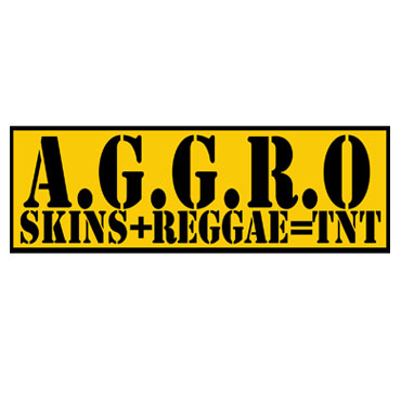 AGGRO Skins and Reggae TNT Pegatina PVC / PVC Sticker