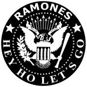 Ramones logo pegatina