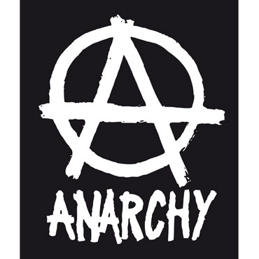 Buy Anarchy PVC Sticker