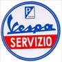 circle vespa servizio sticker