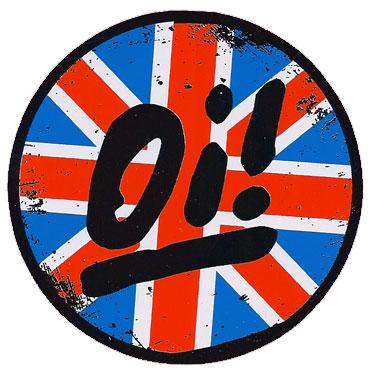 oi union jack sticker