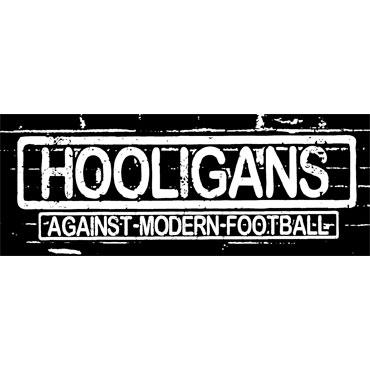 HOOLIGANS Against modern football Sticker PVC