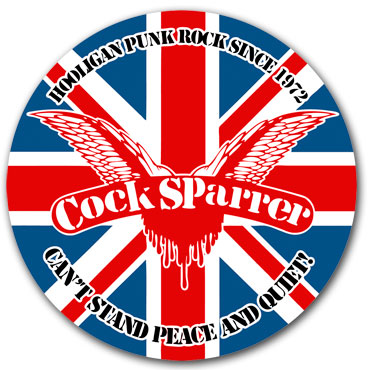 COCK SPARRER Can't Stand Sticker
