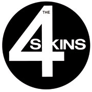 4 Skins Logo Sticker