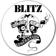 BLITZ Voice of a generation Sticker