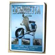 Lambretta cigarrette box