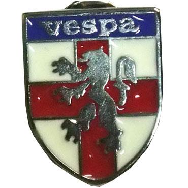 ESCUDO LEON VESPA Metal Pin