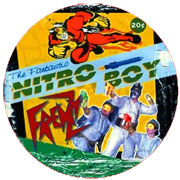 FRENZY The Fantastic Nitro Boy PICTURE LP