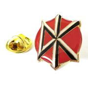 Pin Metálico DEAD KENNEDYS DK Logo Red