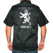 RUNNIN RIOT Crest 1993 shirt / Camisa Negra