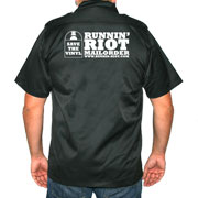 RUNNIN RIOT Save the Vinyl shirt Black