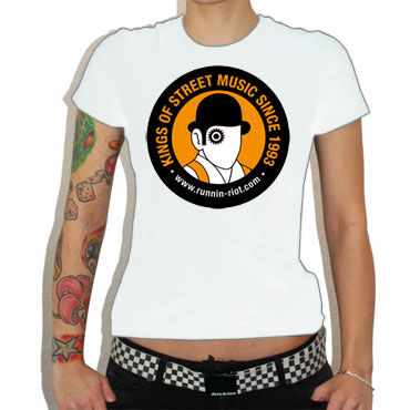 RUNNIN RIOT Clockwork Orange GIRL Camiseta chica