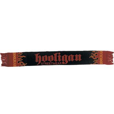 FLAME Bufanda Negra, Roja y Amarilla / HOOLIGAN STREETWEAR