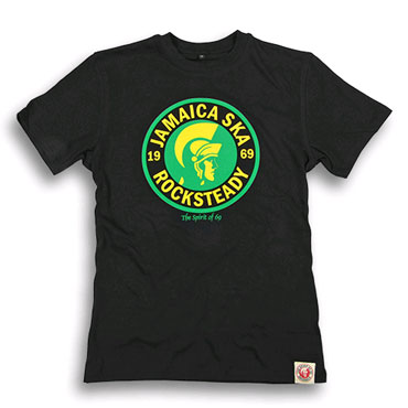 SPIRIT OF 69 - Classic Fitted T-Shirt Soul Black / Camiseta Negra
