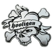 HEARTSKULL BUCKLE / HOOLIGAN STREETWEAR