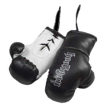 miniboxing black gloves hooligan streetwear