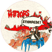 THE METEORS Stampede PICTURE LP