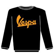 VESPA 60s Sudadera s/cap Negra