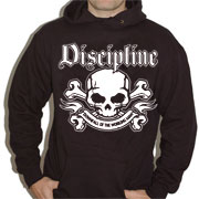 DISCIPLINE Downfall of the working man Hooded