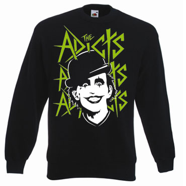THE ADICTS Green Monkey Sudadera / Sweatshirt