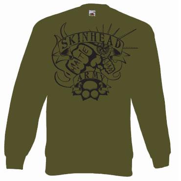 SKINHEAD ARMY Sweat / Sudadera