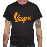 VESPA 60´s Black T-shirt / Camiseta Negra