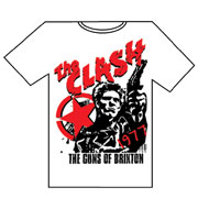 CLASH:Guns of Brixton T-shirt