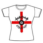 ANGELIC UPSTARTS: England Girl T-shirt